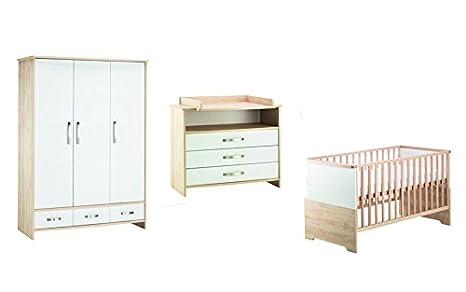 Schardt 11 954 43 00 habitación de los Niños Honey con nevera Cuna ...