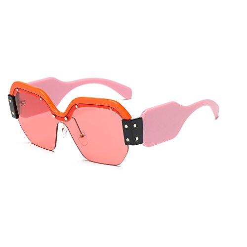 de Sunglasses Personalidad Europeo Gafas Ladies Europeo 1 de Sol de 2018 Color 5 New la Marco YANJING y wqRCx0Ut