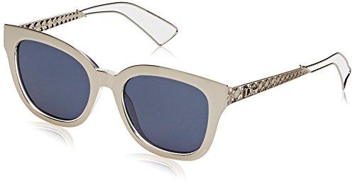 Aoligei L'Europe et le rétro États-Unis tendance réflectorisé lunettes de soleil mode couleur lumineuse de la lunette en acier inoxydable Dame Sunglas Ses OhS2KhvgM
