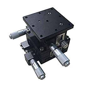 Trimming Platform XYZ Linear Stage Smooth Movement Durable to Use Stable Performance Factory Fiber Coupling for Mechanical Equipment Laboratory