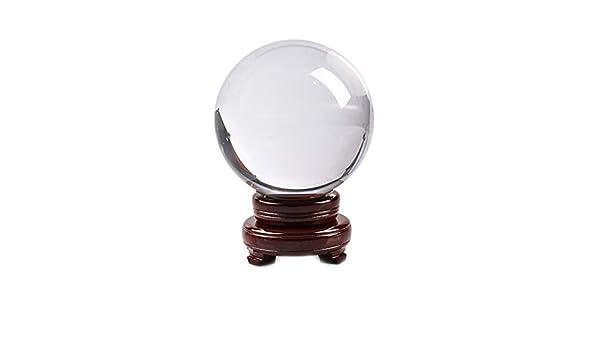 BHYDRY Esfera de Cristal Transparente Bola de Cristal ...