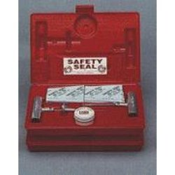 Safety Seal (SFESSKHE) Heavy Equipment Tire Repair Kit, with 18 16'' Inserts, Tool, Heavy Duty Spiral Probe, Lube, in Case