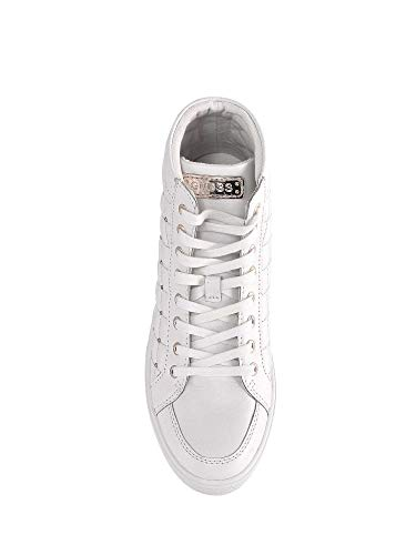 Alto Grace Collo Bianco A Sneaker Donna Guess HqdCII