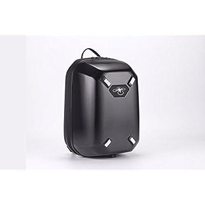 Anbee Hardshell Black Backpack Rucksack Travel Bag Storage Case for DJI Phantom 3, Phantom 4 RC Drone (For DJI Phantom 4) - sports-and-outdoors