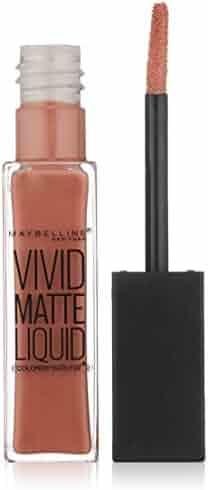 Maybelline Color Sensational Vivid Matte Liquid Lipstick, Nude Thrill, 0.26 fl. oz.