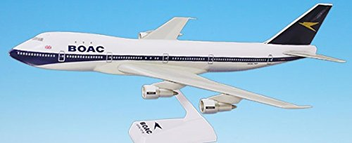 Flight Miniatures 1966 BOAC 1966 Boeing 747-100 1:200 Scale British Overseas Airways (British Airways Boeing 747)