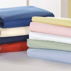Portable Crib Sheet Poly/Cotton - Color: Off White