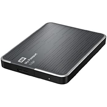 WD My Passport Edge 500GB Portable USB 3.0 External Hard Drive Storage (WDBK6Z5000ATT-NESN)