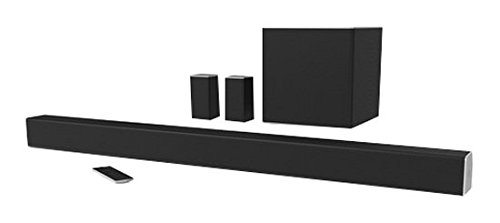 VIZIO SB4451-C0 SmartCast 44'' 5.1 Sound Bar System, Black (2016 Model) by VIZIO