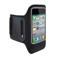 Belkin DualFit Armband - Funda brazalete para Iphone 4, color negro