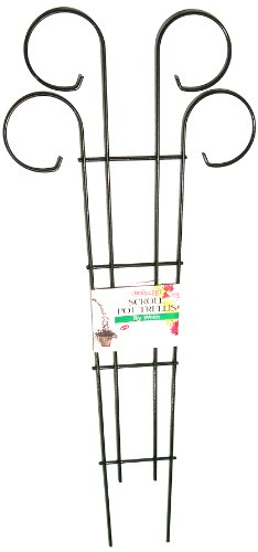 Bosmere L530 36-Inch Wire Scroll Trellis for Planters and Borders ()