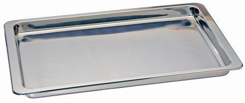 Kitchen Supply Stainless Steel Jelly Roll Pan 10.5-inch by 15.5-inch by Honey-Can-Do (Image #1)