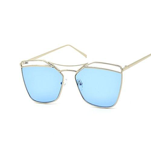Gafas Silver De Creativas De Gran Personalidad De Blue Sol De Gafas Sol Sol De Nuevas Moda CHIRH Gafas naxYfqHOww