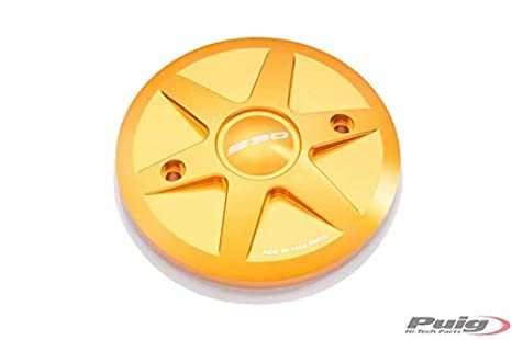 PUIG - 8501O : Tapa 1 Lado Carter Embrague TMAX 530 Color Oro Yamaha ->