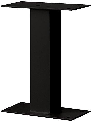 Salsbury Industries 4395BLK Standard Pedestal Bolt Mounted for Mail Package Drop, Black