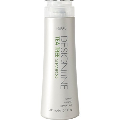 Tea Tree Shampoo, 10.1 oz - Regis DESIGNLINE - Helps Invigorate and Rehydrate Dry, Sensitive Scalps and Balances Hair and Scalp Oil for Shine, Softness, and Manageability.
