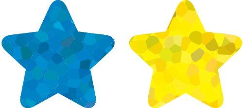 Carson Dellosa Stars, Multicolor Foil Shape Stickers - Stars Foil Variety Sticker Pack
