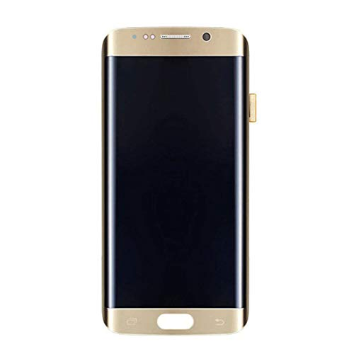 lriumpexplo LCD Touch Screen Digitizer Assembly for Samsung S7 Edge G935 Replacement LCD Display Touch Screen Digitizer Golden