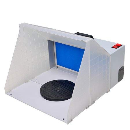 Airbrush Paint Spray Booth with Fan Filter by Jacoble