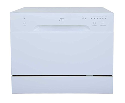 SPT SD 2213W Countertop Dishwasher White