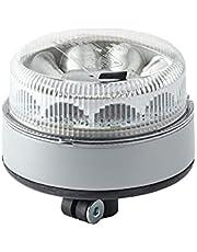 HELLA 2XD 012 980-011 lampa sygnalizacyjna LED – K-LED Blizzard – 12/24 V – żółta – króciec rurowy, elastyczna – przezroczysta