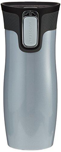 Contigo Trinkflasche West Loop, polar weiß, 470 ml, 1000-0278, ohne Logo