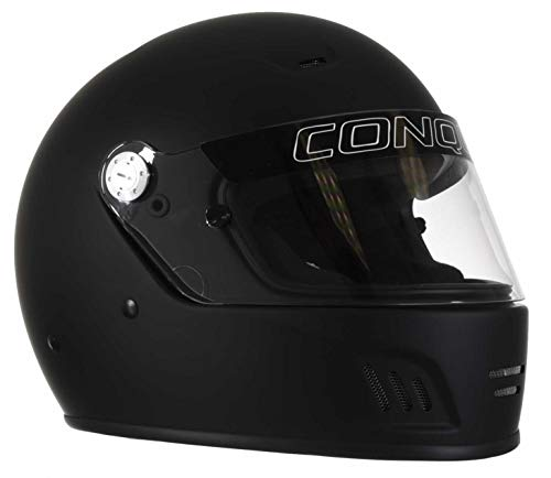 (Conquer Snell SA2015 Approved Full Face Auto Racing Helmet)