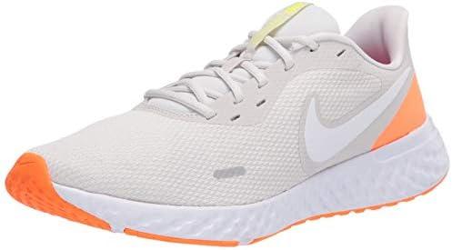 vecino Animado Establecer  Nike Revolution 5, Men's Road Running Shoes, Grey (Platinum Tint/White-Pink  Blast), 41 EU: Buy Online at Best Price in UAE - Amazon.ae
