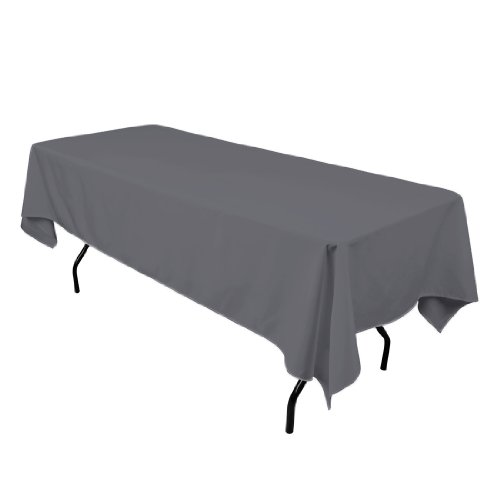 LinenTablecloth Rectangular Polyester Tablecloth 102 Inch product image