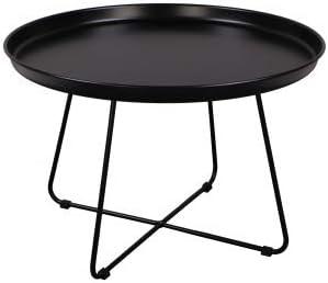 Carla Marge Nanja Coffee Table Metal Modern Design Black Amazon De Kuche Haushalt