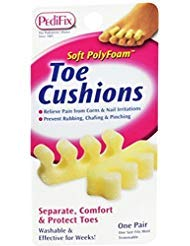 (PediFix Toe Cushions One Size Fits Most 2 Each (Pack of)