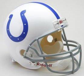 1959 Nfl Football - Riddell NFL Baltimore Colts 1959-1977 Throwback Replica Vsr4 Full Size Football Helmet
