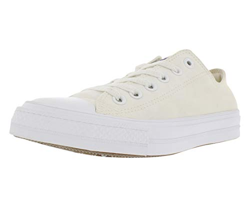 Converse Unisex Chuck Taylor II Ox White/White Basketball Shoe 5.5 Men US/7.5 Women US by Converse