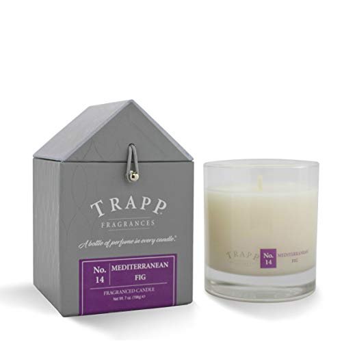 - Trapp Signature Home Collection No. 14 Mediterranean Fig Poured Scented Candle, 7-Ounce