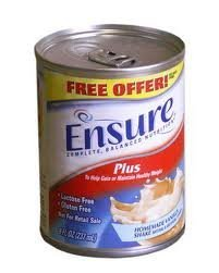 Ensure Plus Homemade Vanilla 8 oz Cans 24/Case