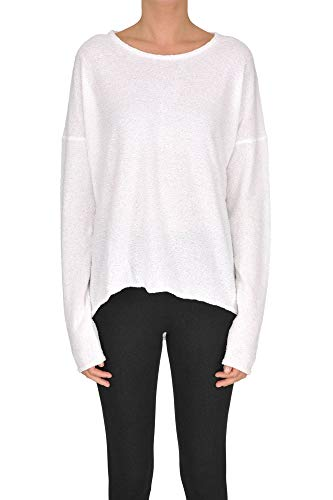 Mcglmgp000005015e Cotone Maglione Gotha Bianco Donna n4x7f