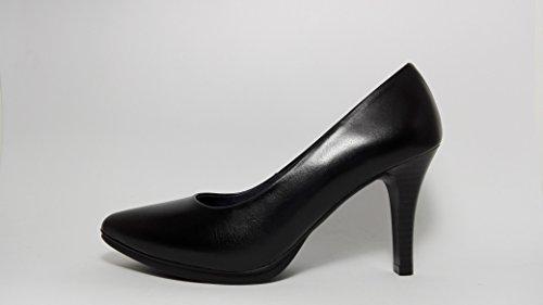 Chamby Zapato de salon -piel napa-Negro