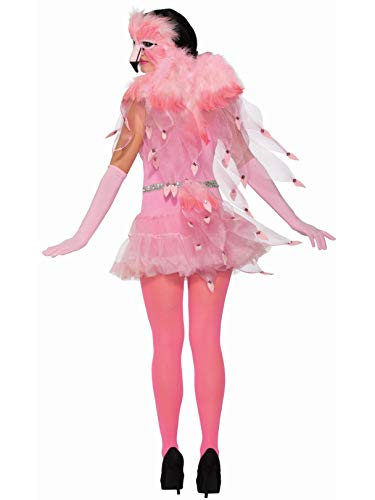 Forum Novelties Flamingo Feather Wings, Pink, -