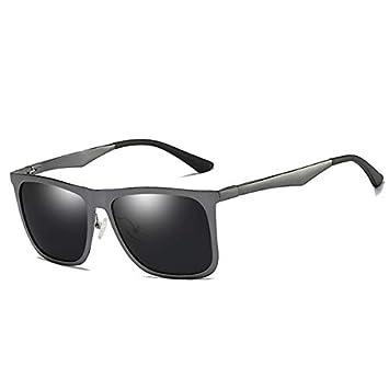 DYJHSD Unisex Clásico Marca de Calidad Hombres Gafas de Sol ...