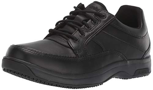 Dunham Men's Midland Service Shoe, Black, 9 6E US