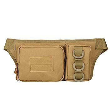 1Pc Outdoor Sports Waist Bag 3p Molle Camouflage Phone Bag Utility Pack Pouch Camping Hiking