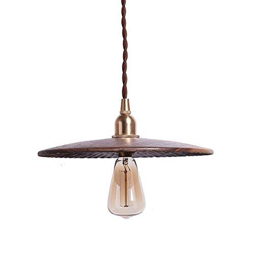 Haoaijia Pendant Light Handgemaakte Hout Hanger Lamp