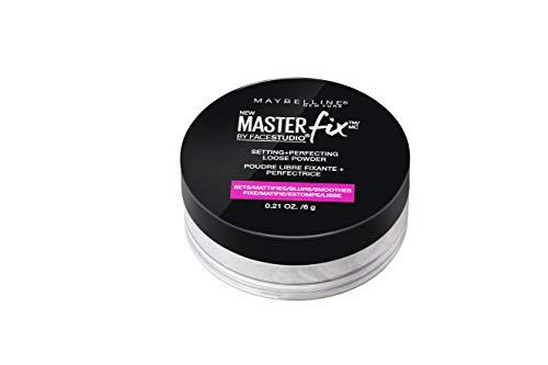 Maybelline New York Facestudio Master Fix Setting + Perfecting Loose Powder, Translucent, 0.21 oz.
