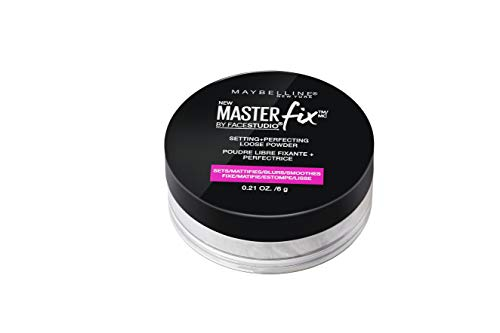 Maybelline New York Facestudio Master Fix Setting + Perfecting Loose Powder, Translucent, 0.21 oz.