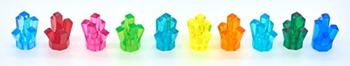 LEGO Power Miners Power Crystals in 10 Different Colors (Includes Rare and Retired Colors) (Lego Halloween Costumes)