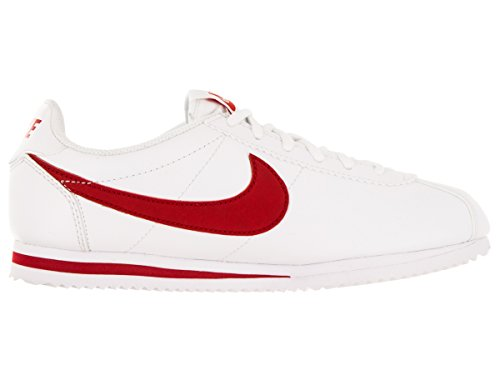 Nike Cortez (Gs), Zapatillas de Running para Niños Blanco / Rojo (White / University Red)