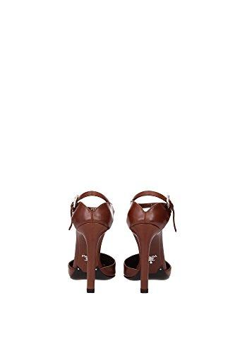 Sandalias Prada Mujer - (1I200FBRUCIATO) EU Marrón