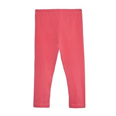 Bluezoo Kids Girls' Pink Leggings