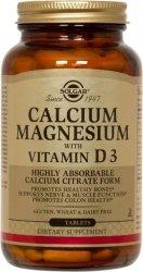 Solgar Calcium Magnesium with Vitamin D3 (300 Tablets), Kosher Calcium