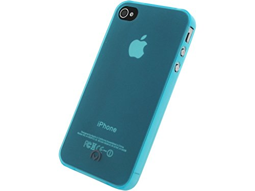 Mobilize Gelly Case Ultra Thin Apple iPhone 4/4S Neon Blue